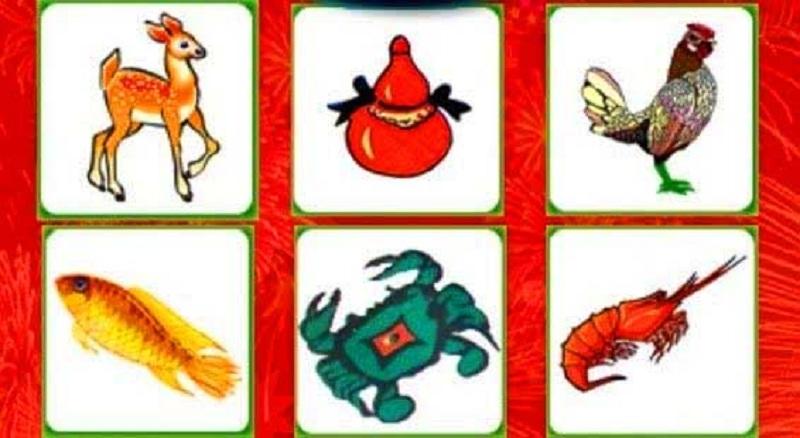 Bầu cua tôm cá là trò chơi dân gian phổ biến