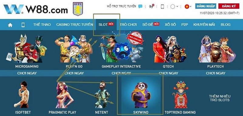 Genesis cung cấp các sản phẩm game slot hấp dẫn