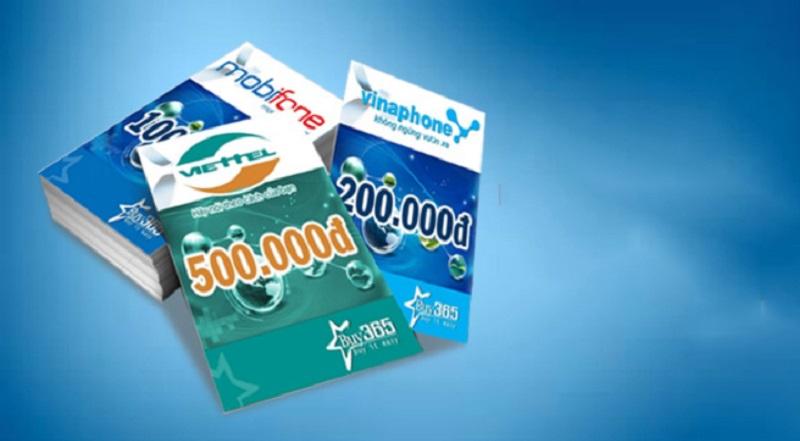 Người chơi có thể đi mua thẻ cào điện thoại tại bất kỳ đâu, tiệm tạp hóa, cửa hàng hoặc đại lý để có thể nạp tiền nhanh chóng