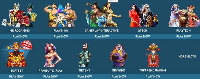 W88 chính là nhà cái hội tụ đầy đủ các slot games được thiết kế bởi các công ty phần mềm nổi tiếng hàng đầu thế giới