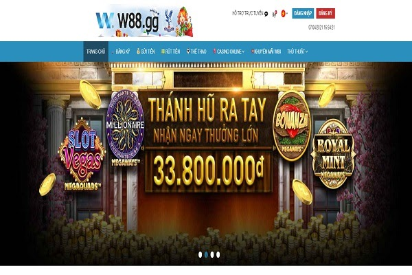 Bí quyết chơi lotto tại w88