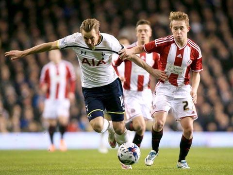 Thông tin chi tiết về trận đấu Tottenham vs Sheff Utd