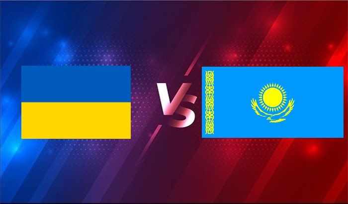 Thông tin trận đấu Ukraine vs Kazakhstan