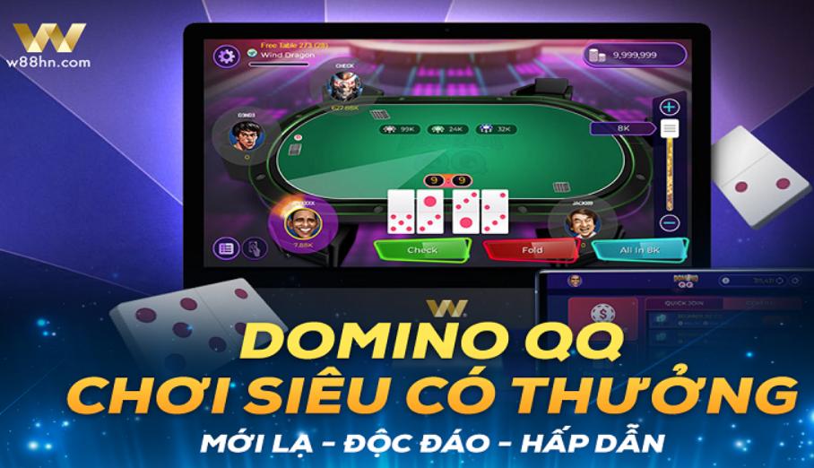 Hướng dẫn chi tiết cách chơi trò chơi Domino QQ tại nhà cái W88