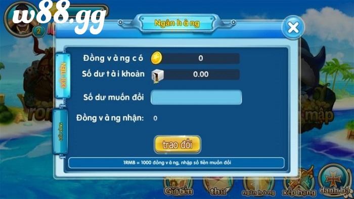 Người chơi có thể đổi xu trong game thành tiền mặt