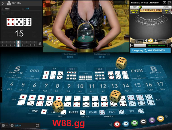 Sòng bài tại W88 thiết kế bắt mắt