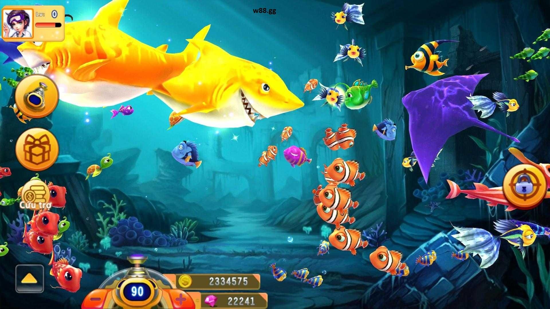 Bí quyết chơi bắn cá Cash Fish W88 dễ dàng giành thắng