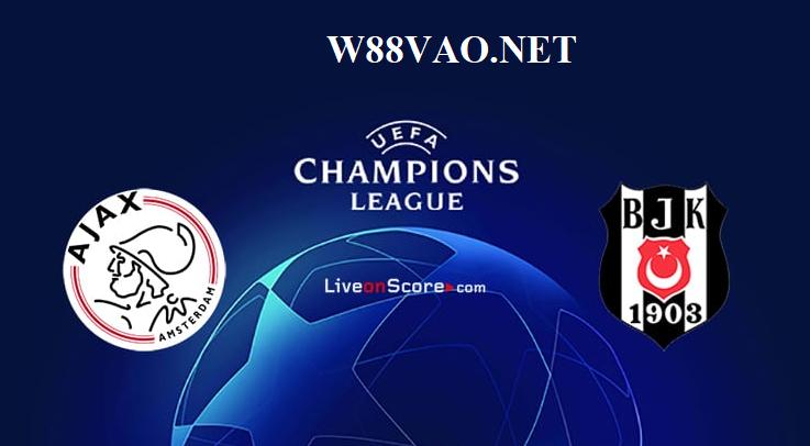 Ajax sẽ giành chiến thắng trước Besiktas theo dự đoán của các chuyên gia